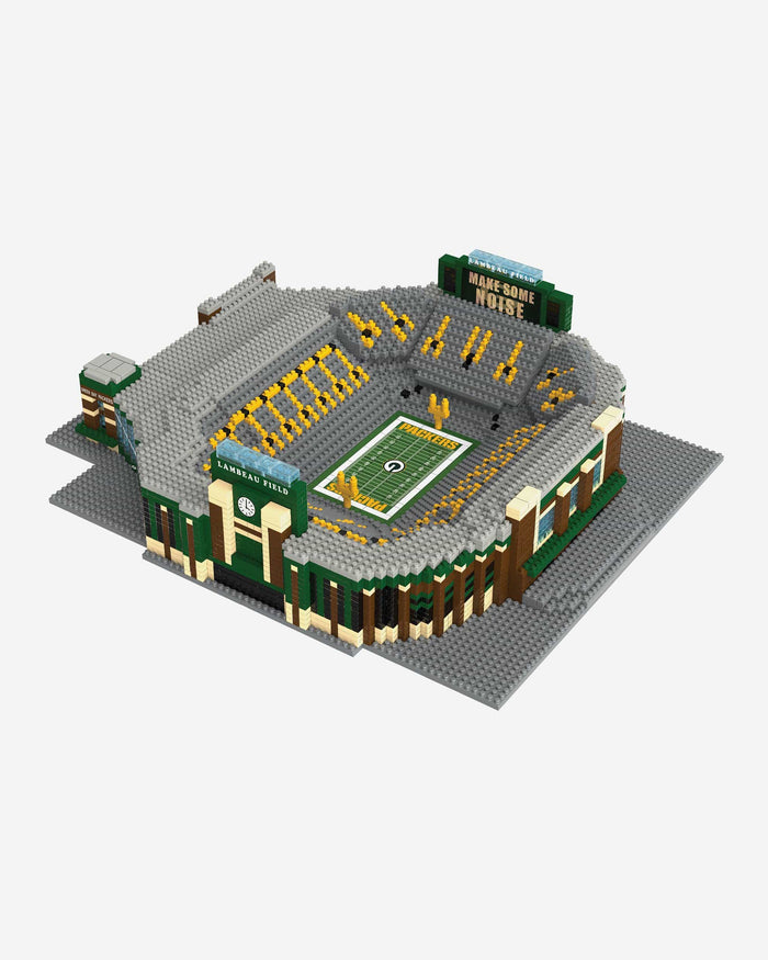 Green Bay Packers Lambeau Field BRXLZ Stadium FOCO - FOCO.com