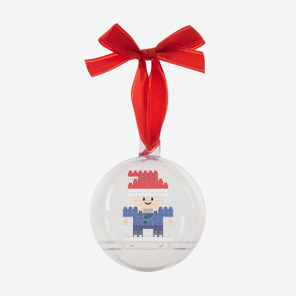 St Louis Blues BRXLZ Mini Player Ball Ornament FOCO - FOCO.com