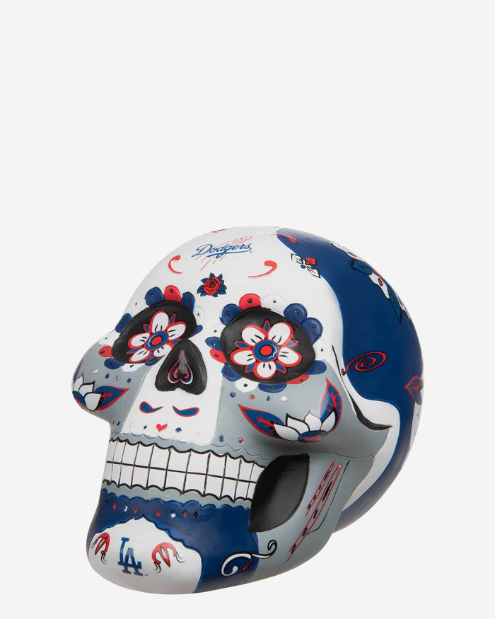 Los Angeles Dodgers Day Of The Dead Skull Figurine FOCO - FOCO.com
