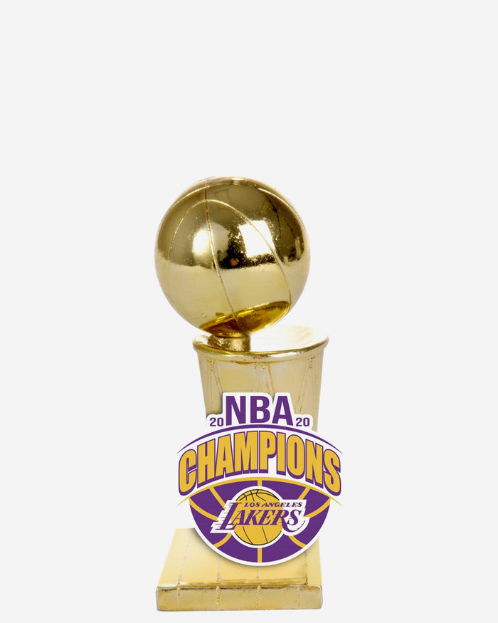 Los Angeles Lakers 2020 NBA Champions Trophy Paperweight FOCO - FOCO.com