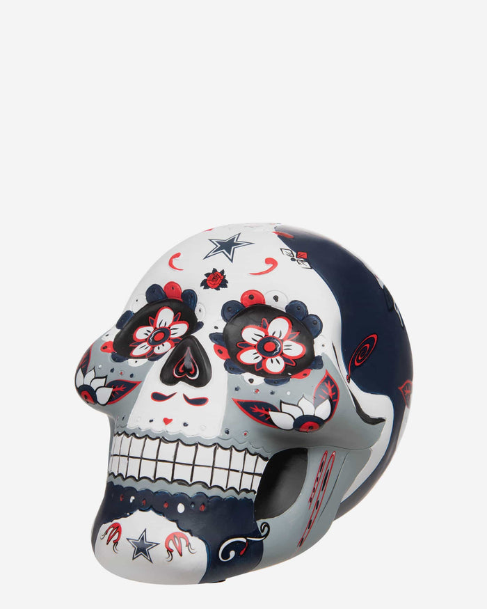Dallas Cowboys Day Of The Dead Skull Figurine FOCO - FOCO.com