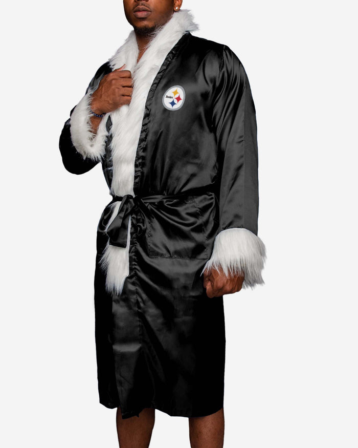 Pittsburgh Steelers Team Wrestling Robe FOCO - FOCO.com