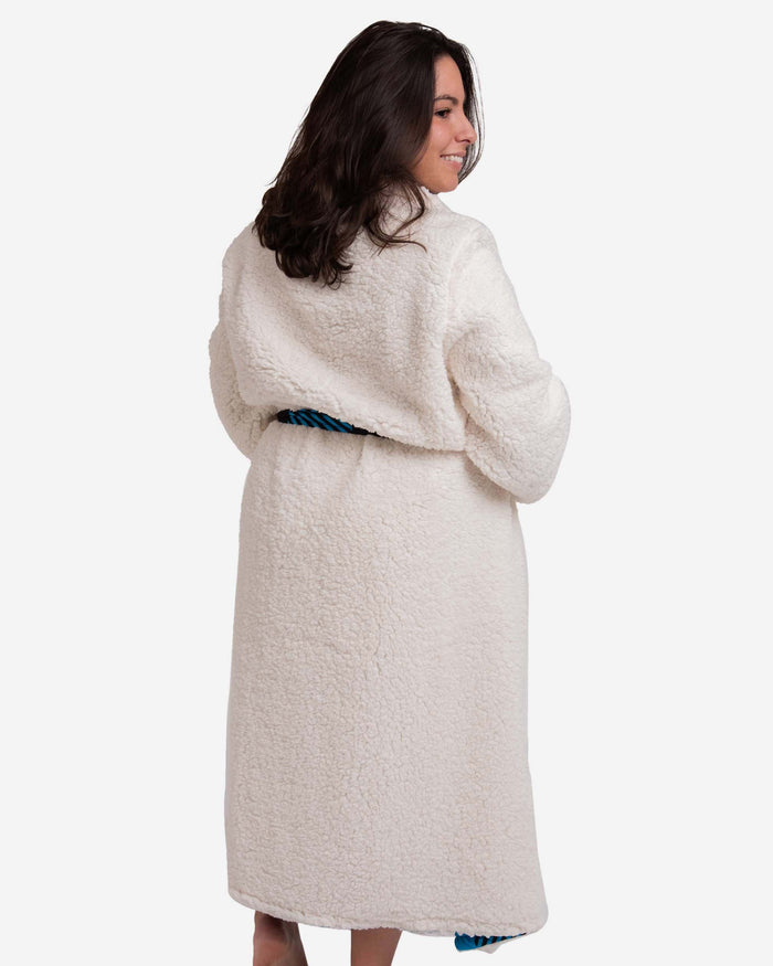 Carolina Panthers Lounge Life Reversible Robe FOCO - FOCO.com