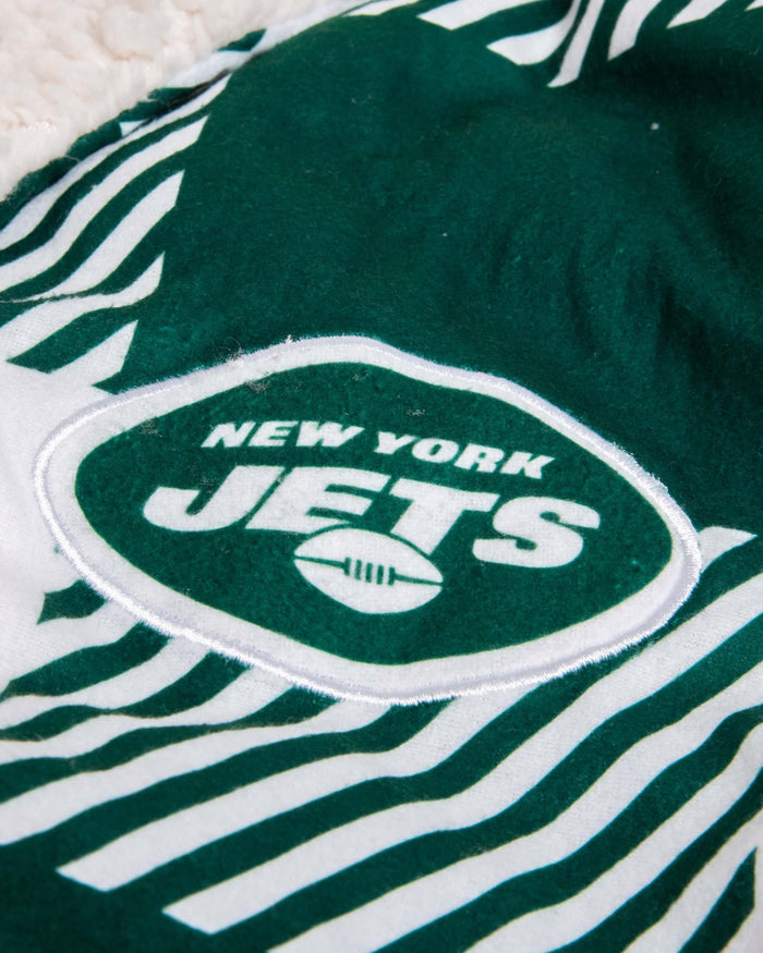 New York Jets Lounge Life Reversible Robe FOCO - FOCO.com