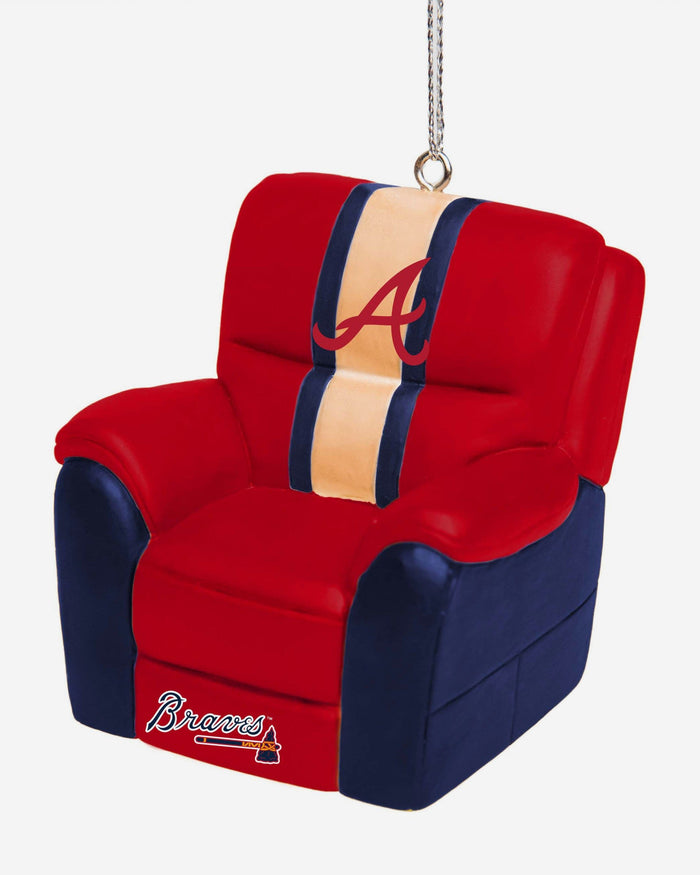 Atlanta Braves Reclining Chair Ornament FOCO - FOCO.com