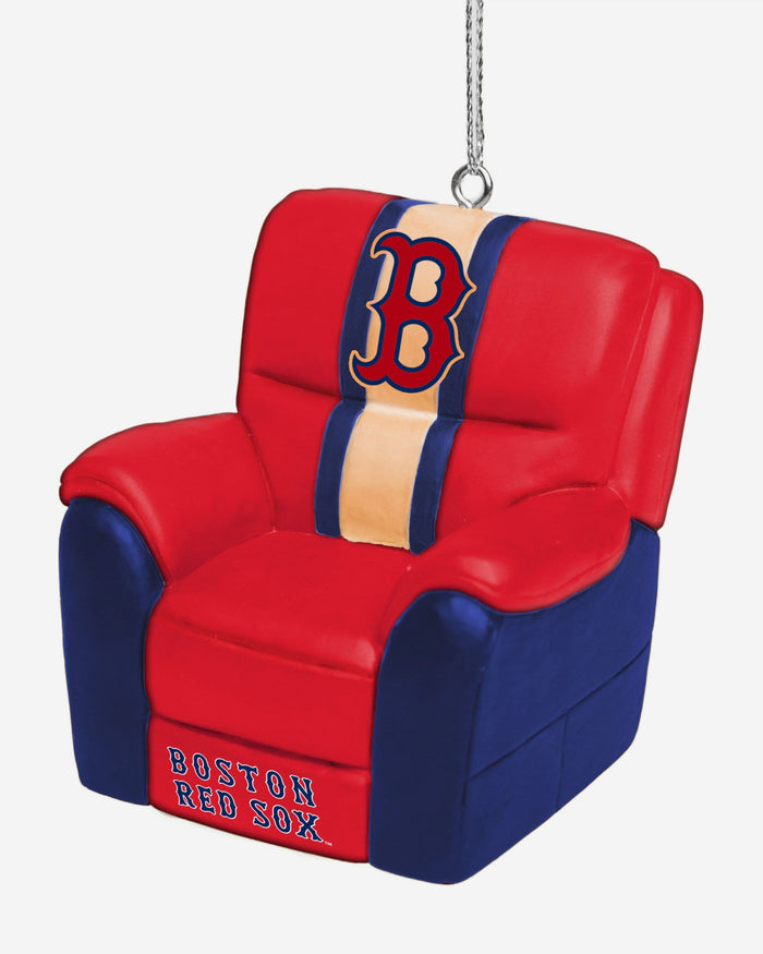 Boston Red Sox Reclining Chair Ornament FOCO - FOCO.com
