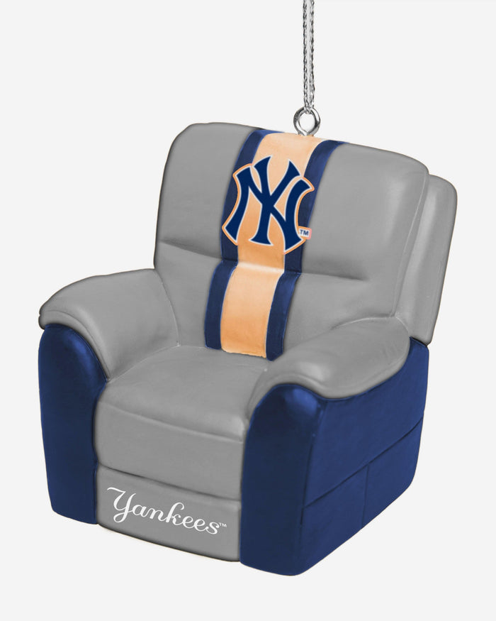 New York Yankees Reclining Chair Ornament FOCO - FOCO.com