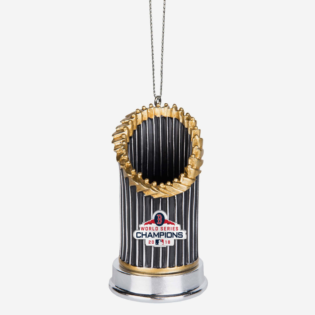 Boston Red Sox 2018 World Series Champions Resin Trophy Ornament