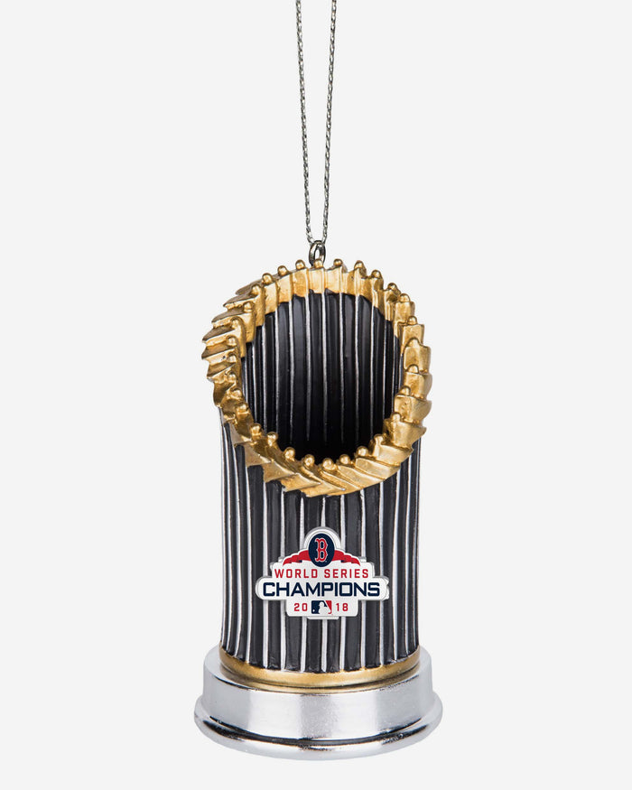 Boston Red Sox 2018 World Series Champions Resin Trophy Ornament FOCO - FOCO.com