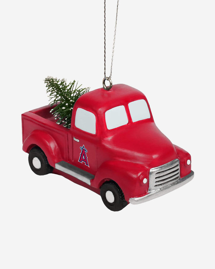 Los Angeles Angels Truck With Tree Ornament FOCO - FOCO.com