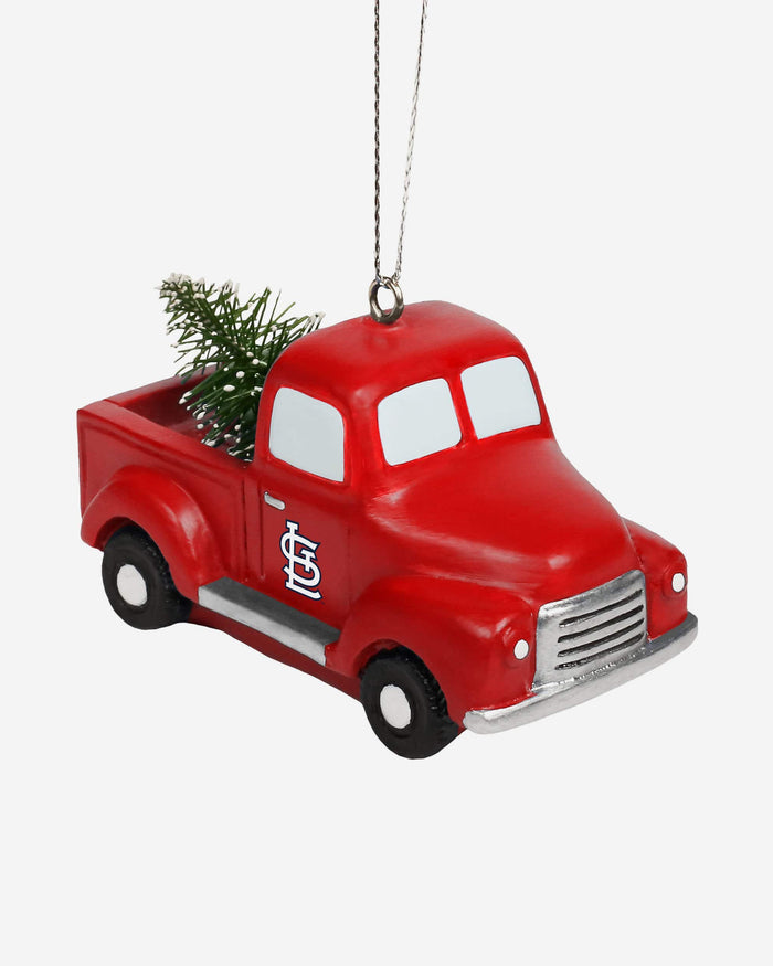 St Louis Cardinals Truck With Tree Ornament FOCO - FOCO.com