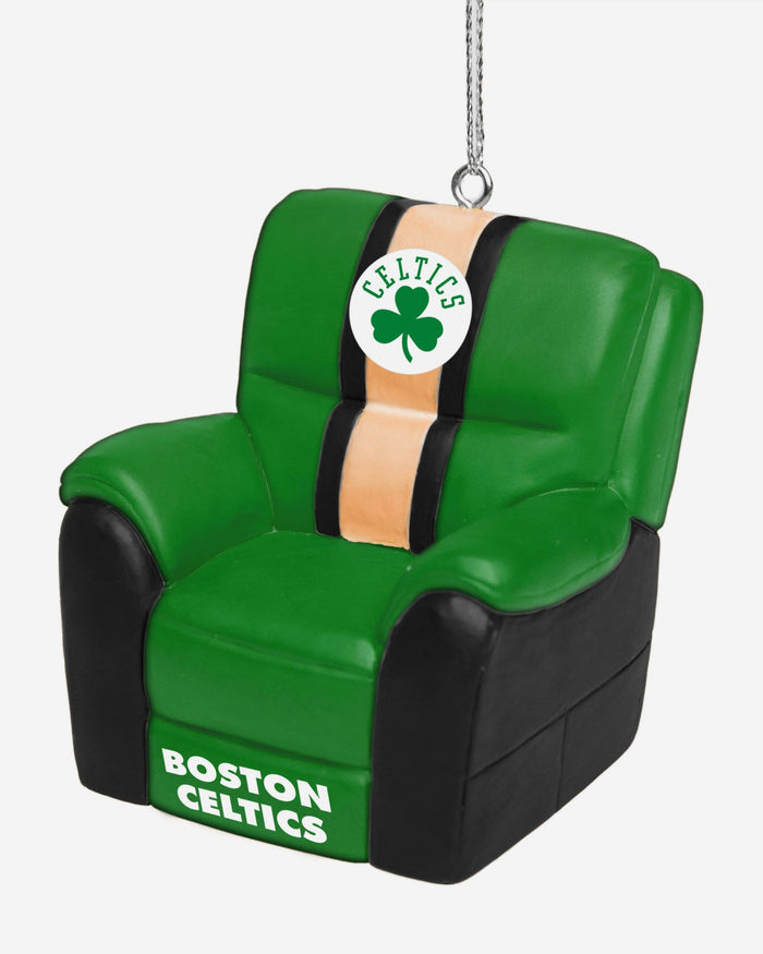 Boston Celtics Reclining Chair Ornament FOCO - FOCO.com