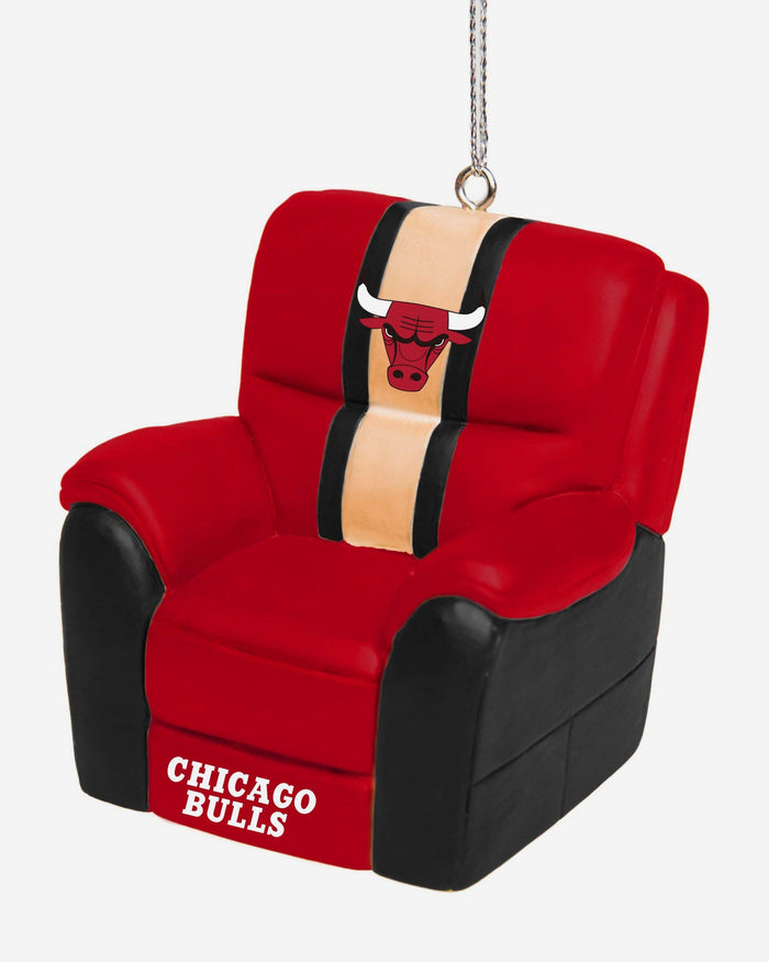 Chicago Bulls Reclining Chair Ornament FOCO - FOCO.com