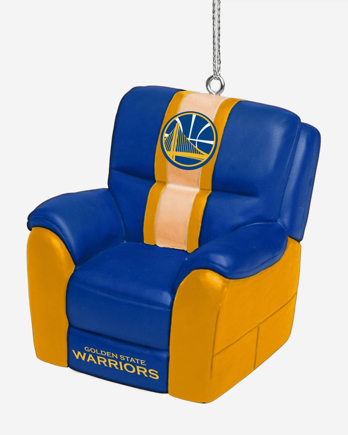 Golden State Warriors Reclining Chair Ornament FOCO - FOCO.com