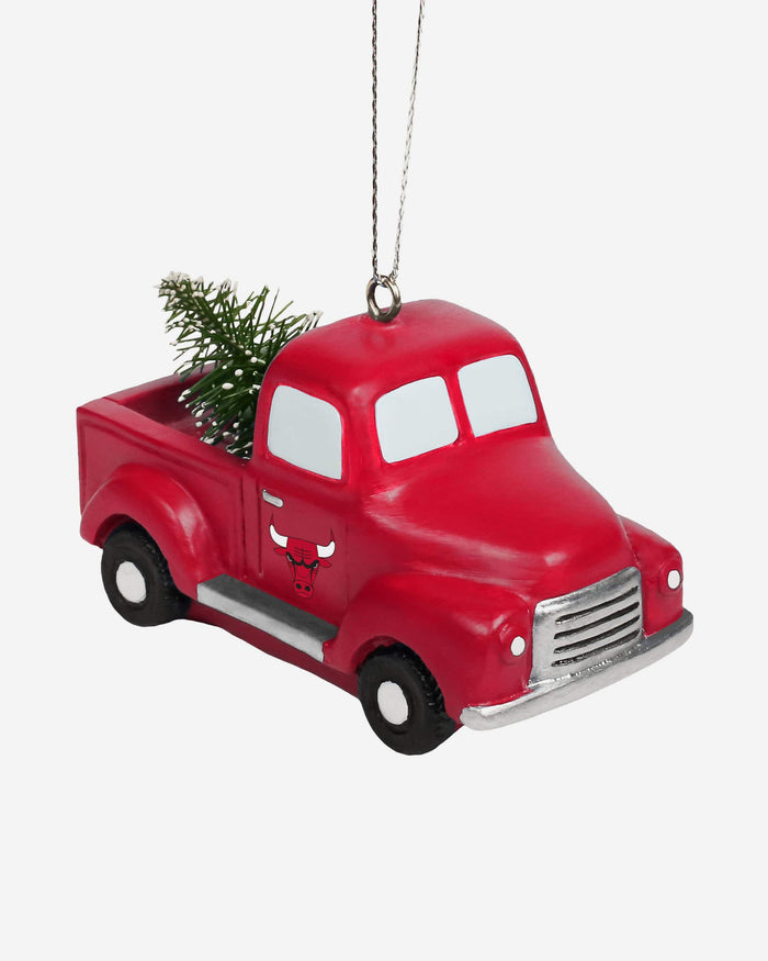 Chicago Bulls Truck With Tree Ornament FOCO - FOCO.com