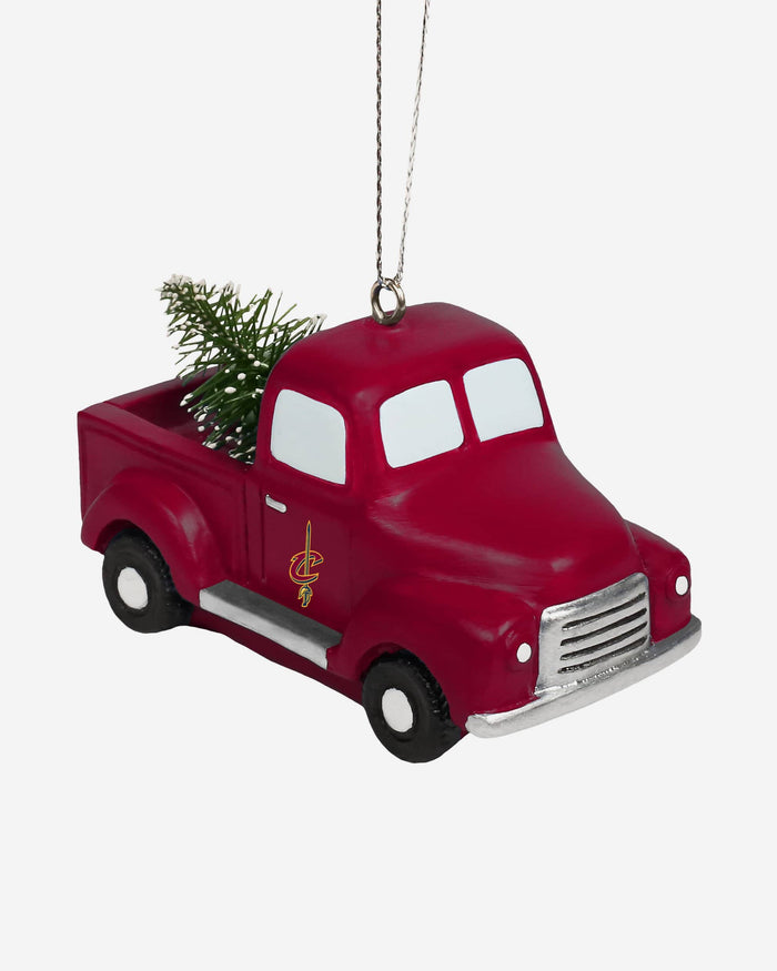 Cleveland Cavaliers Truck With Tree Ornament FOCO - FOCO.com