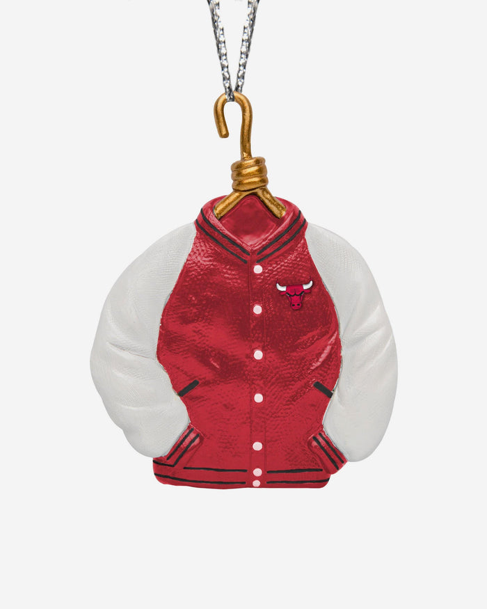 Chicago Bulls Varsity Jacket Ornament FOCO - FOCO.com