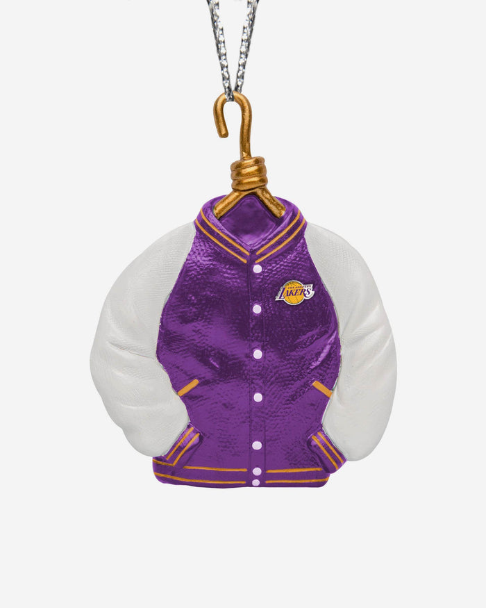 Los Angeles Lakers Varsity Jacket Ornament FOCO - FOCO.com