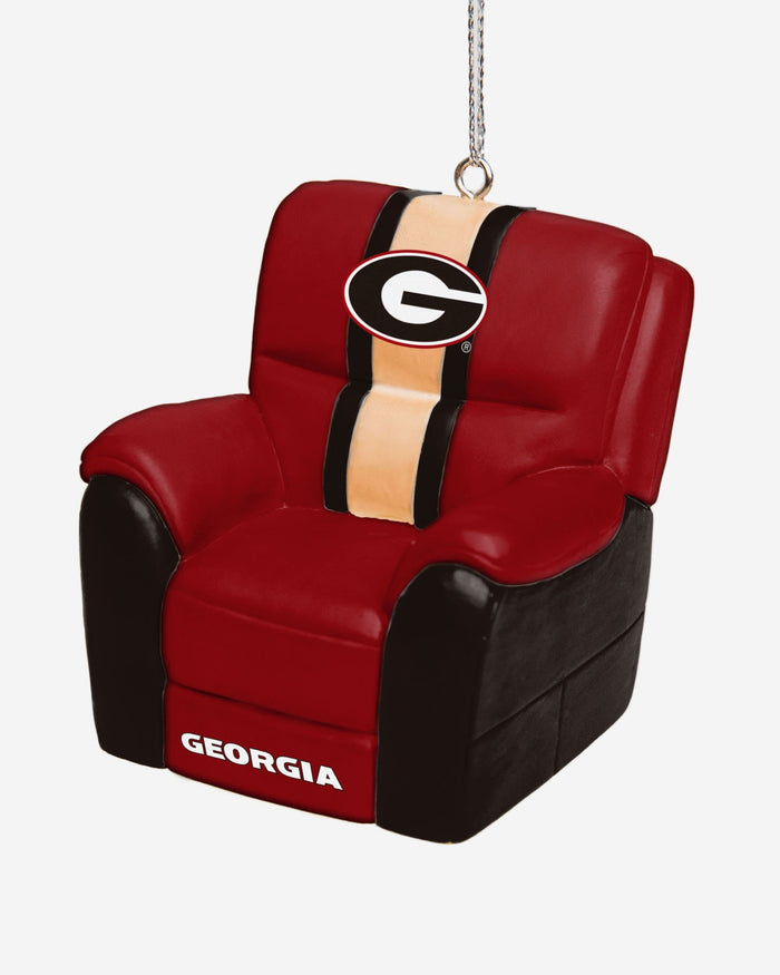 Georgia Bulldogs Reclining Chair Ornament FOCO - FOCO.com