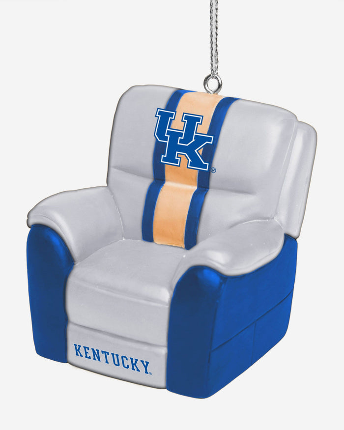 Kentucky Wildcats Reclining Chair Ornament FOCO - FOCO.com