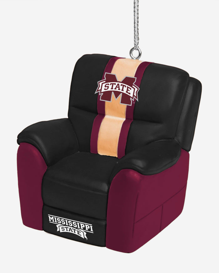 Mississippi State Bulldogs Reclining Chair Ornament FOCO - FOCO.com