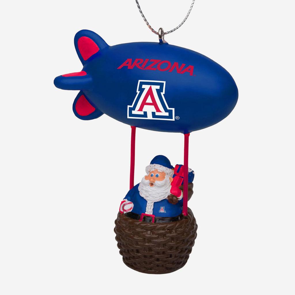 Arizona Wildcats Santa Blimp Ornament FOCO - FOCO.com