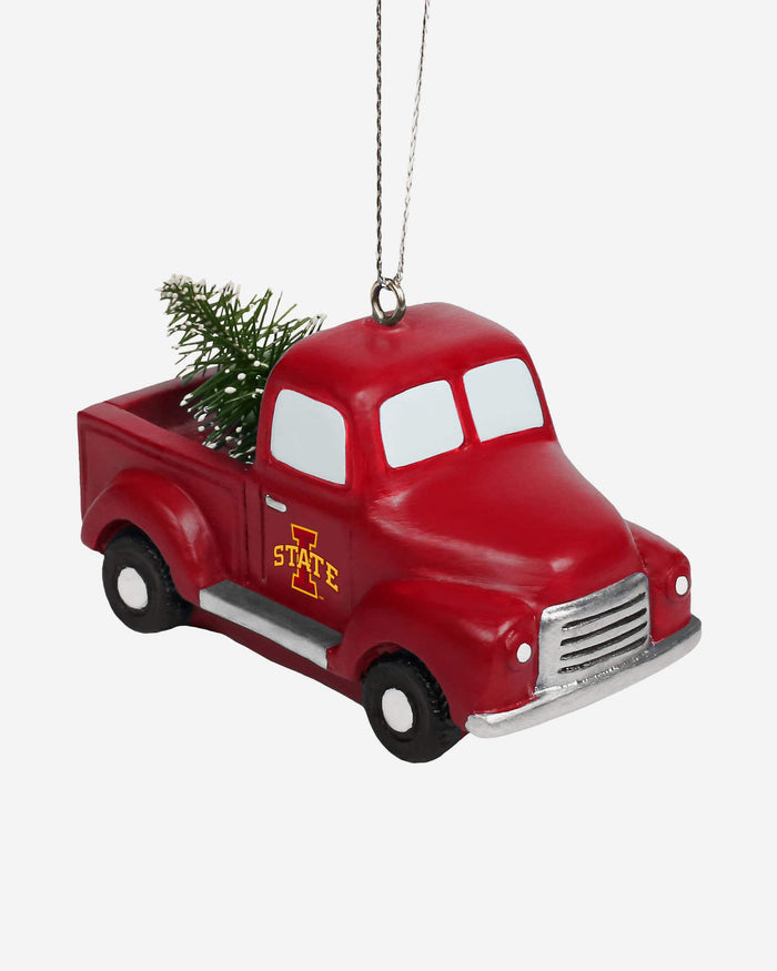 Iowa State Cyclones Truck With Tree Ornament FOCO - FOCO.com