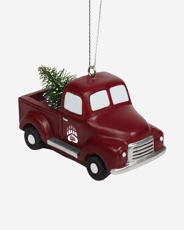 Montana Grizzlies Truck With Tree Ornament FOCO - FOCO.com