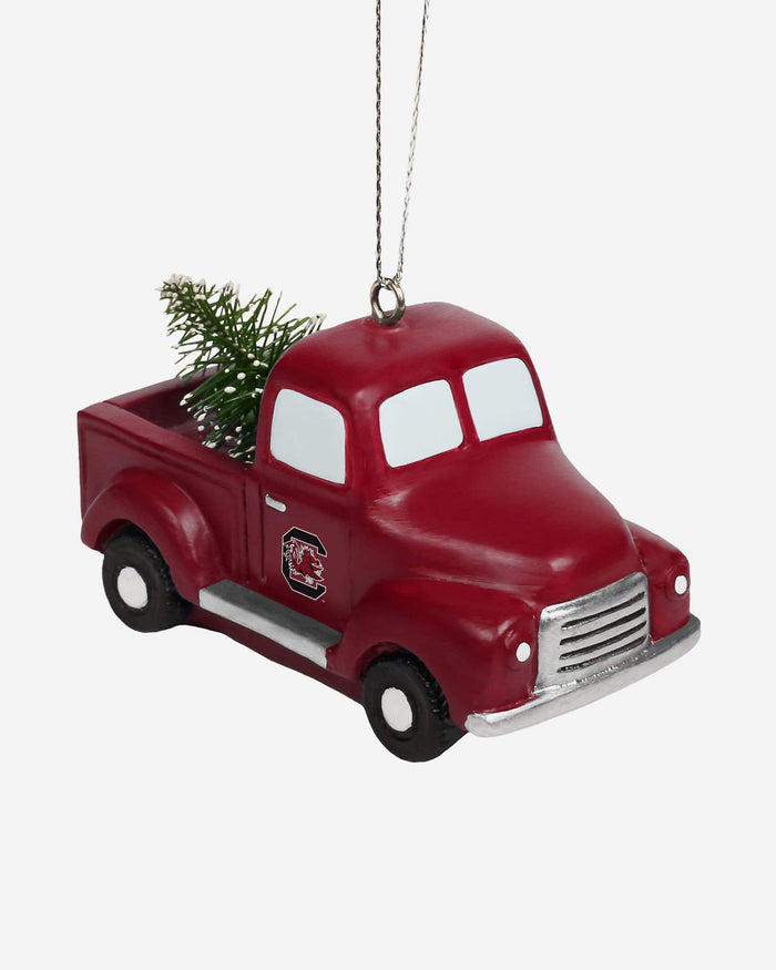 South Carolina Gamecocks Truck With Tree Ornament FOCO - FOCO.com