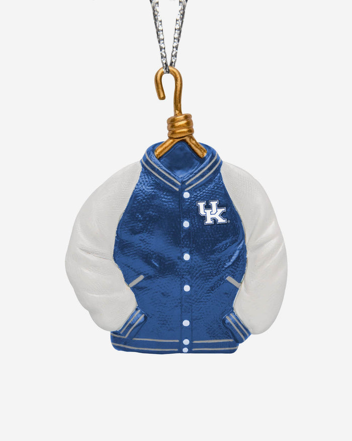 Kentucky Wildcats Varsity Jacket Ornament FOCO - FOCO.com