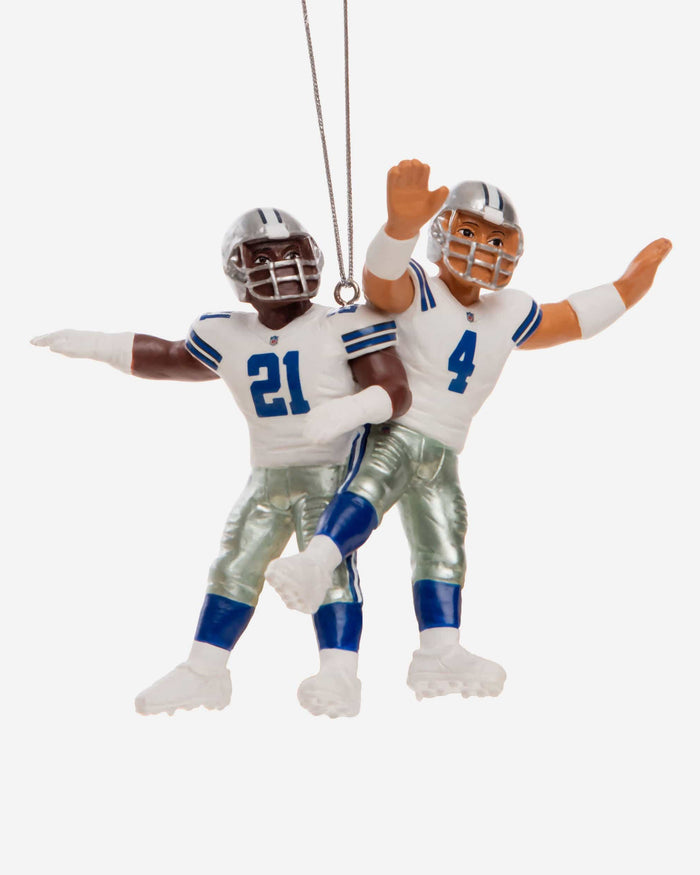 Dallas Cowboys 2 Player Team Celebration Ornament FOCO - FOCO.com