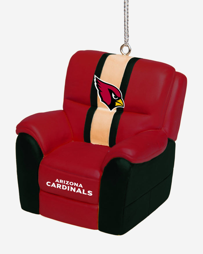 Arizona Cardinals Reclining Chair Ornament FOCO - FOCO.com