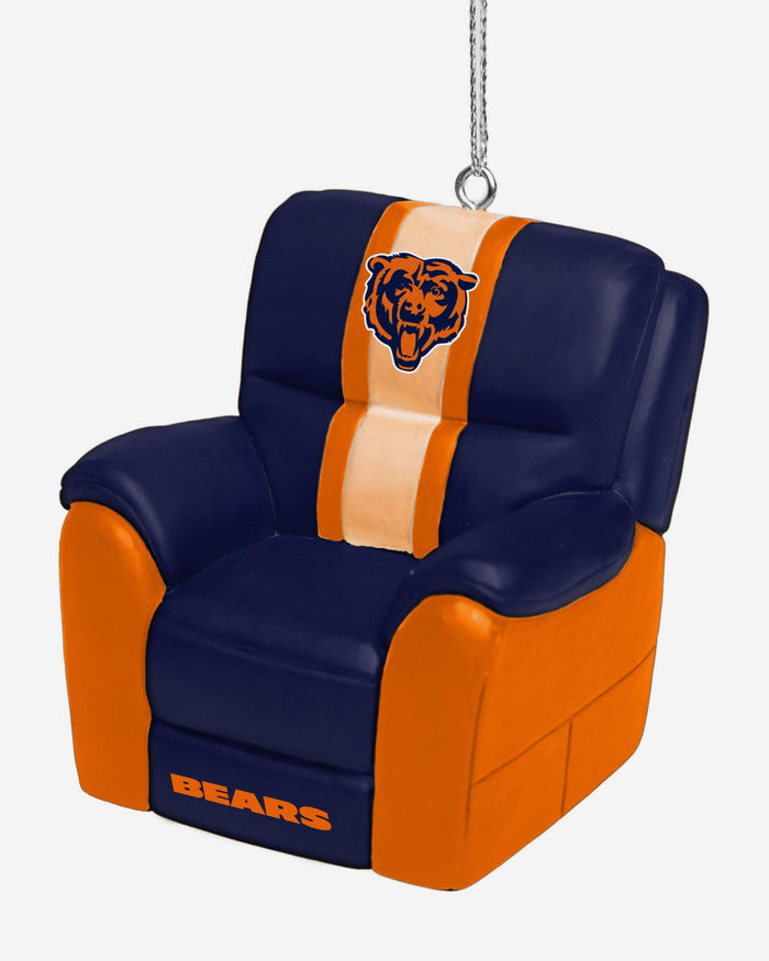Chicago Bears Reclining Chair Ornament FOCO - FOCO.com
