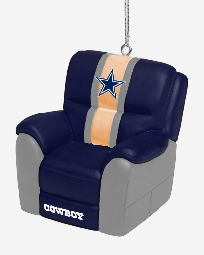 Dallas Cowboys Reclining Chair Ornament FOCO - FOCO.com