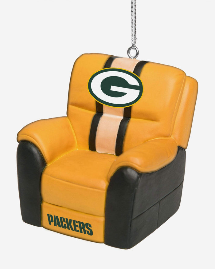 Green Bay Packers Reclining Chair Ornament FOCO - FOCO.com