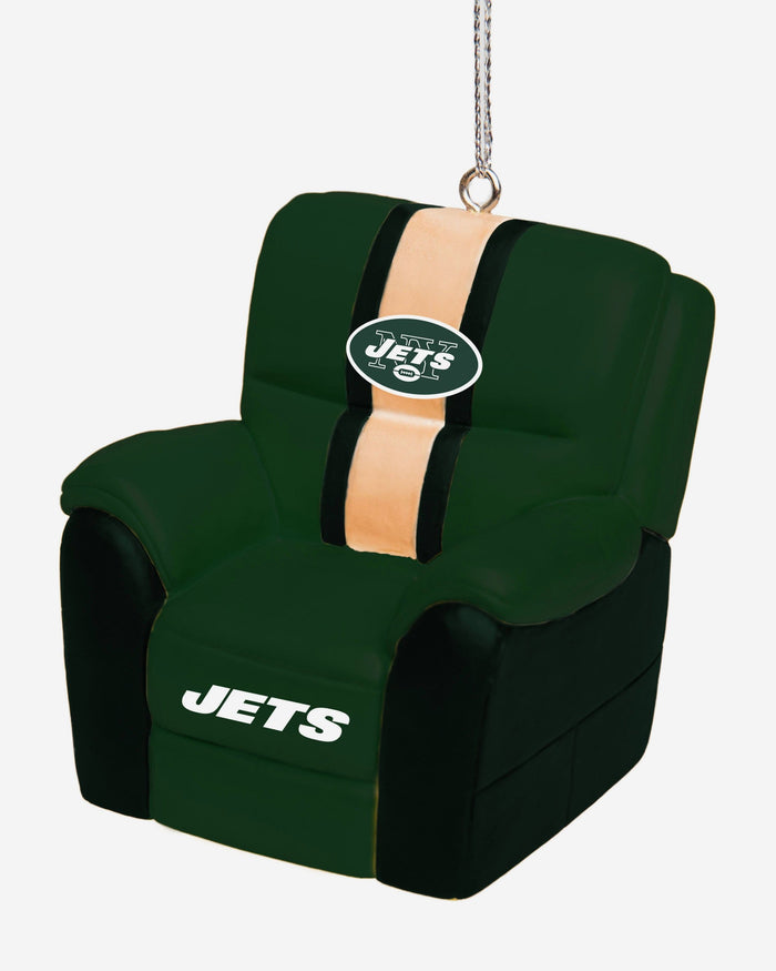 New York Jets Reclining Chair Ornament FOCO - FOCO.com