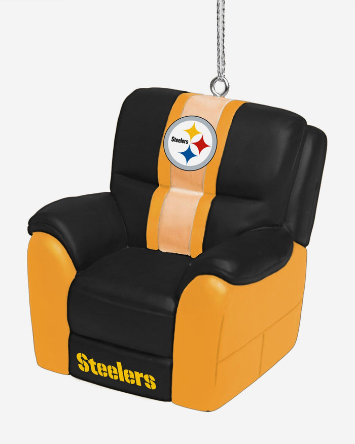 Pittsburgh Steelers Reclining Chair Ornament FOCO - FOCO.com
