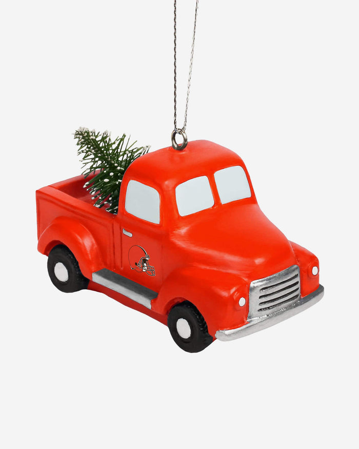 Cleveland Browns Truck With Tree Ornament FOCO - FOCO.com