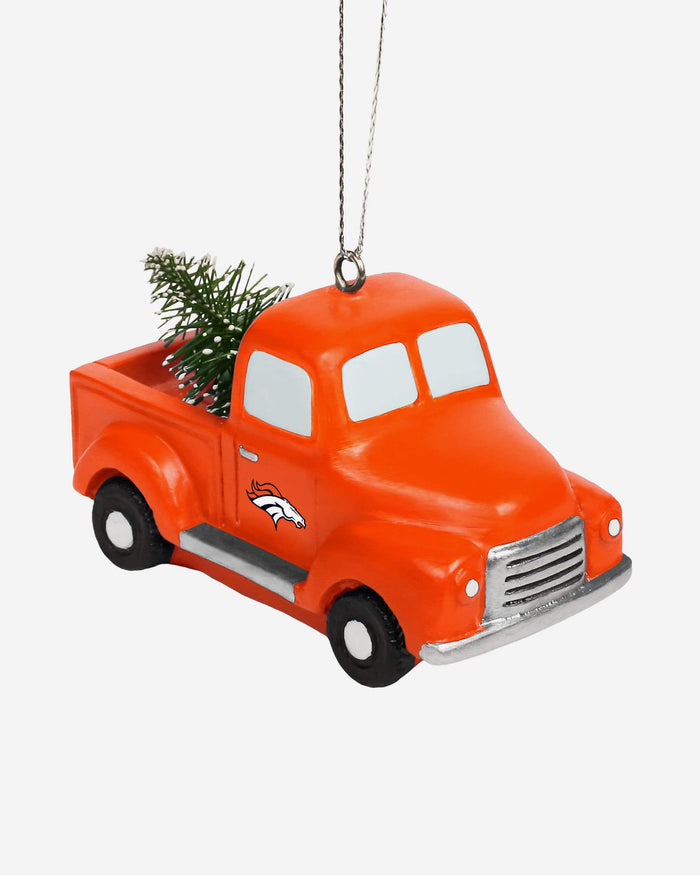 Denver Broncos Truck With Tree Ornament FOCO - FOCO.com
