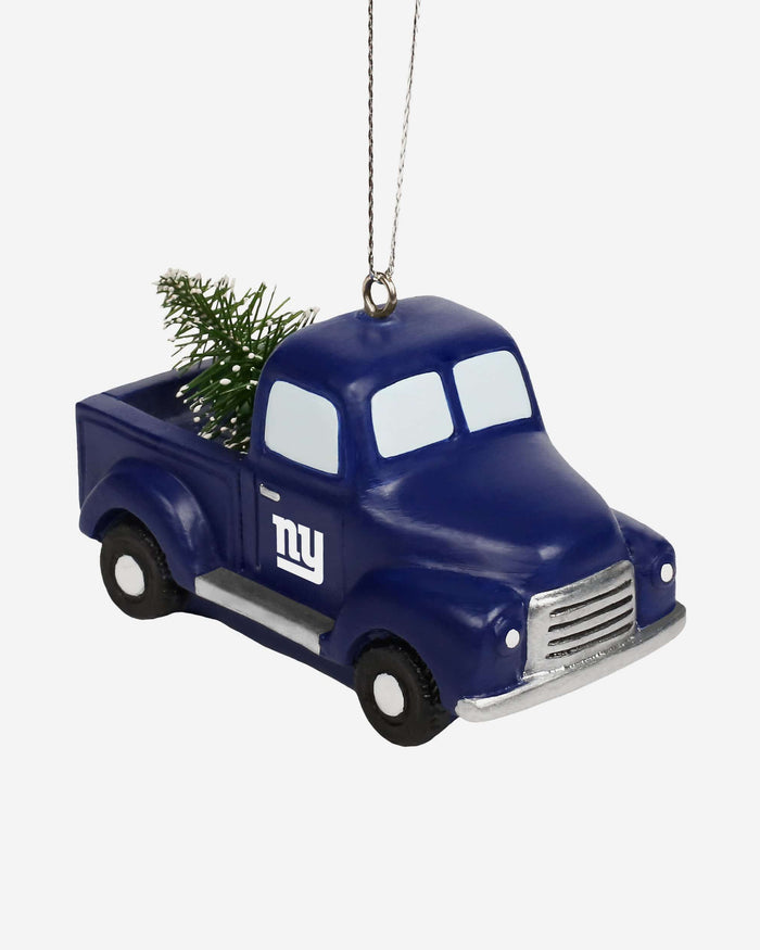 New York Giants Truck With Tree Ornament FOCO - FOCO.com
