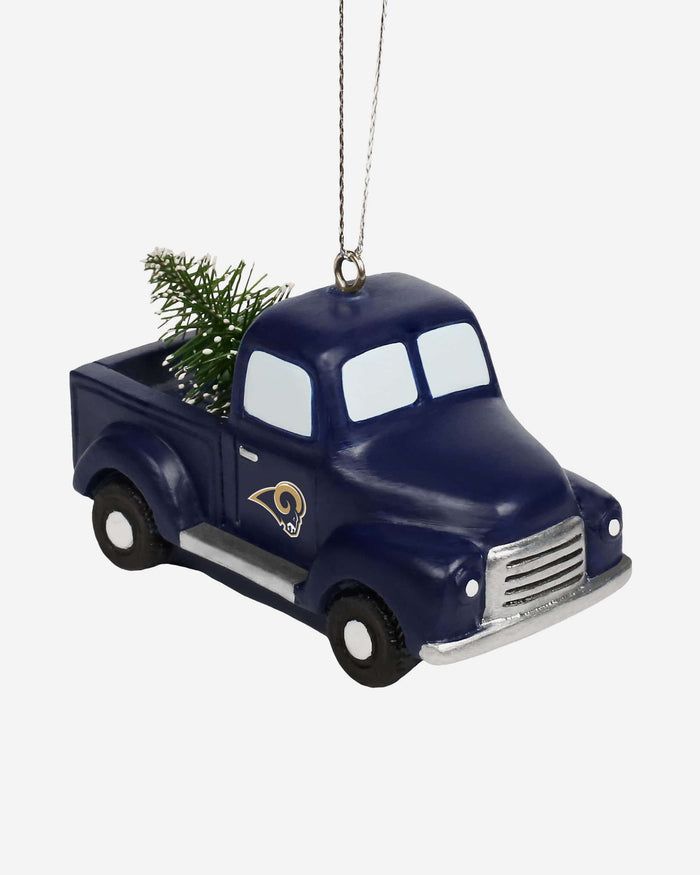 Los Angeles Rams Truck With Tree Ornament FOCO - FOCO.com