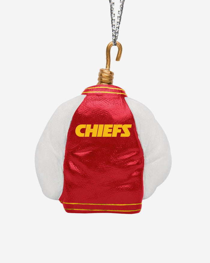 Kansas City Chiefs Varsity Jacket Ornament FOCO - FOCO.com