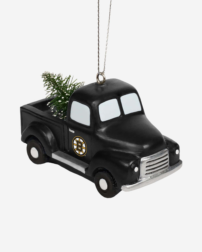 Boston Bruins Truck With Tree Ornament FOCO - FOCO.com