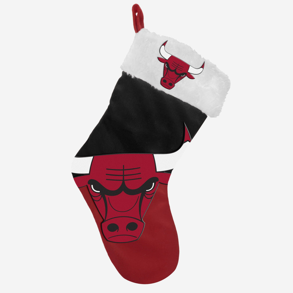 Chicago Bulls Season Spirit Basic Stocking FOCO - FOCO.com