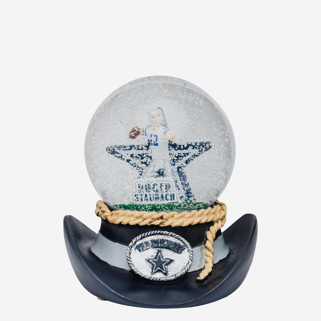 Dallas Cowboys Iconic Moment Snow Globe FOCO - FOCO.com