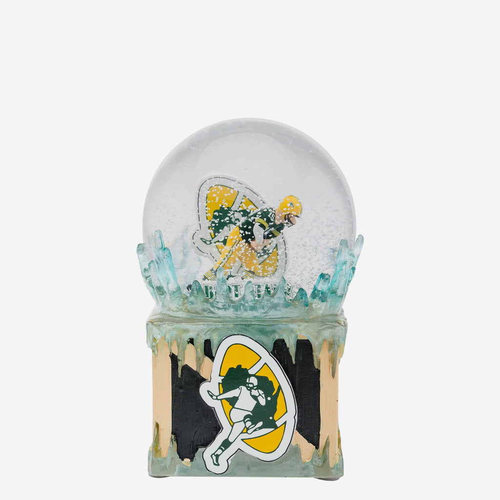 Green Bay Packers Iconic Moment Snow Globe FOCO - FOCO.com