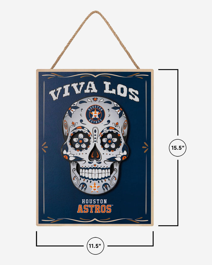 Houston Astros Day Of The Dead LED Sign FOCO - FOCO.com
