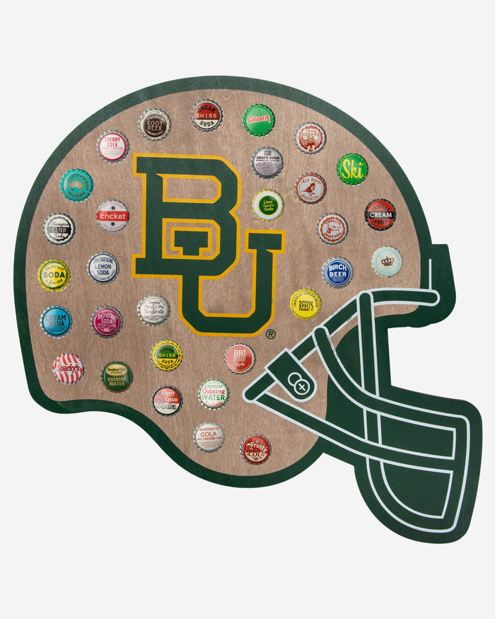 Baylor Bears Push Bottle Cap Wall Sign FOCO - FOCO.com