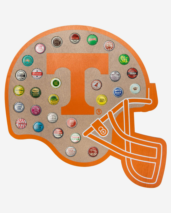 Tennessee Volunteers Push Bottle Cap Wall Sign FOCO - FOCO.com