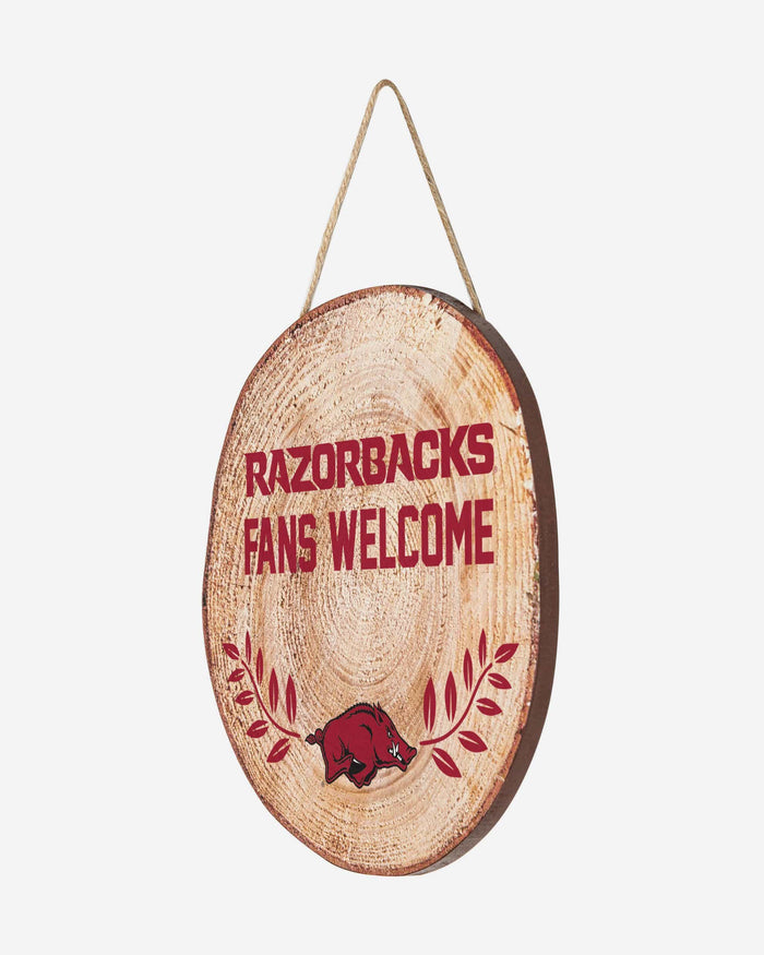 Arkansas Razorbacks Wood Stump Sign FOCO - FOCO.com